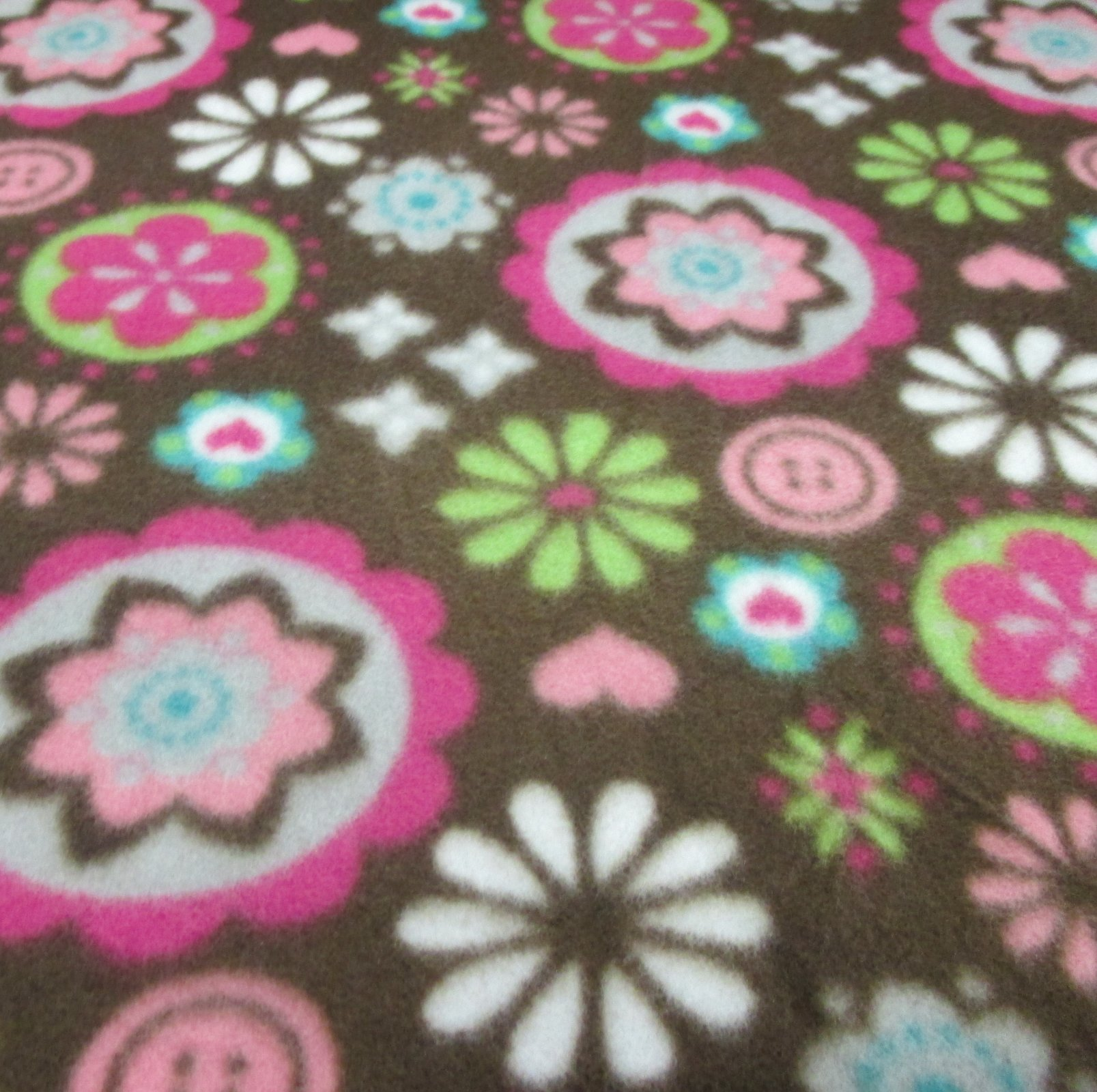 Flower Bursts Fleece