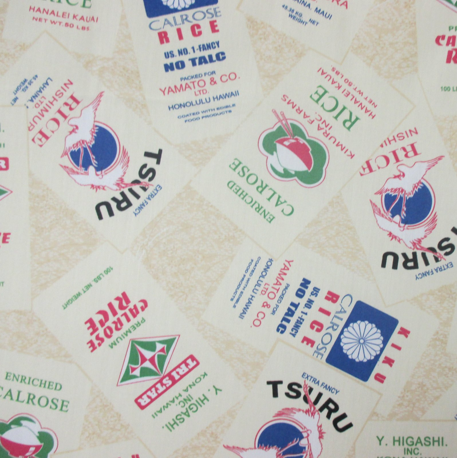 Rice Bag Print - Rice