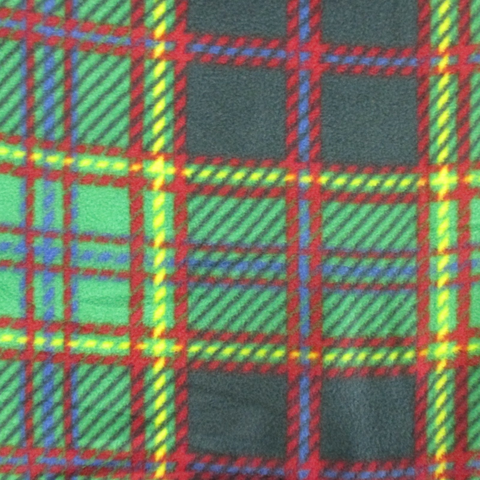 Green Plaid Fleece