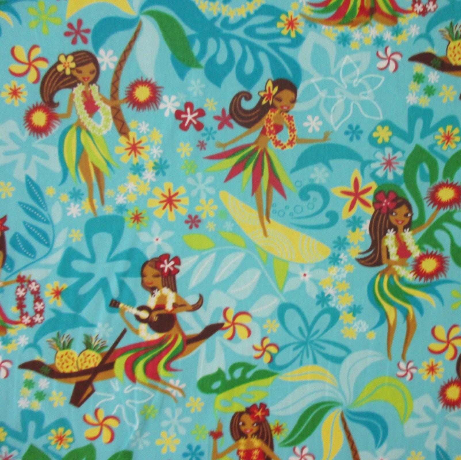 Pretty Hula Dancer - Turquoise