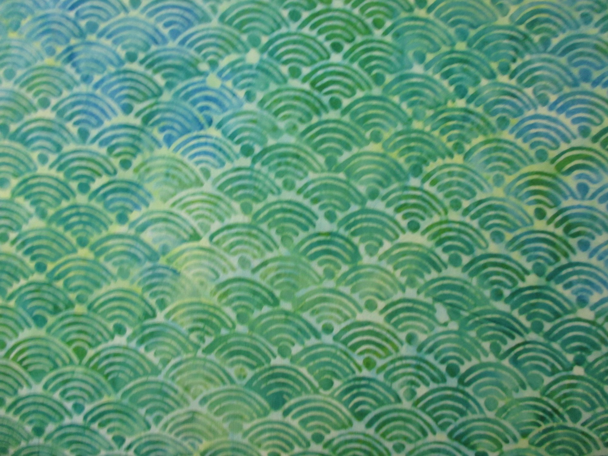 Diamond Bali Batiks - Turquoise