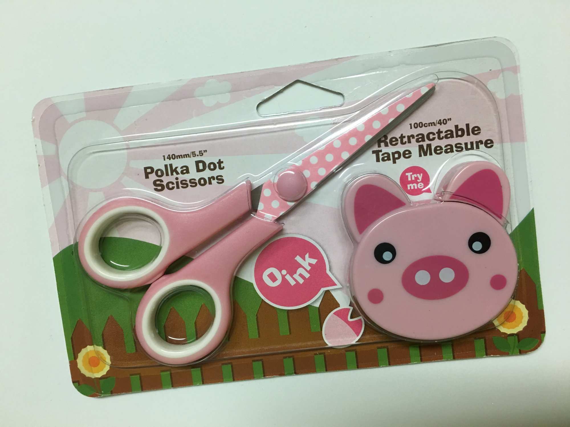 Sewing Gift Set - Pig
