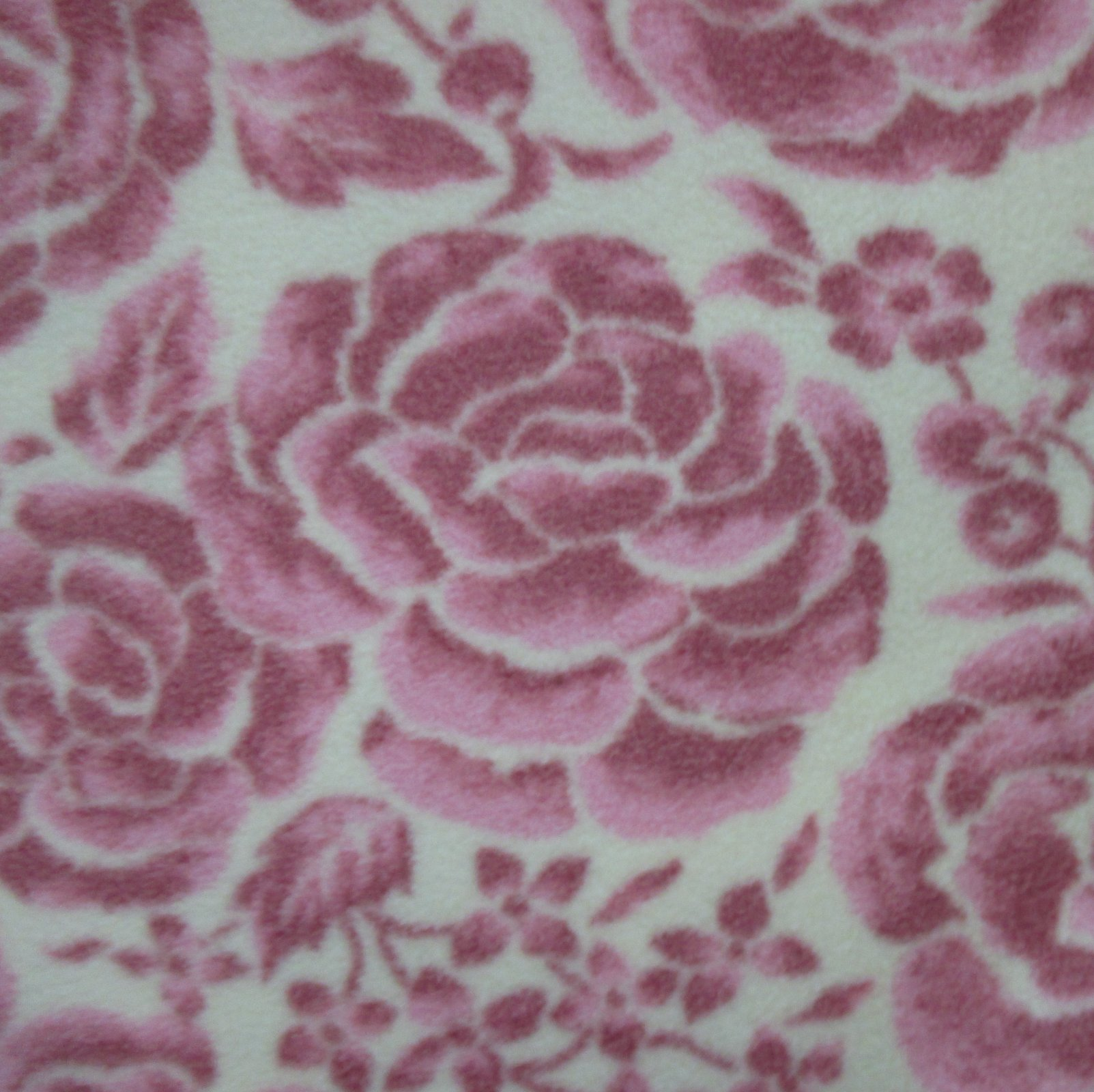 Large Rose Fleece