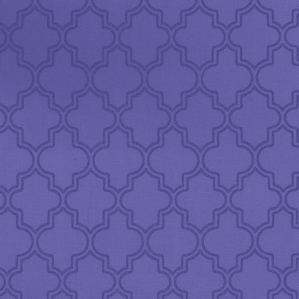 Quatrefoil - Purple
