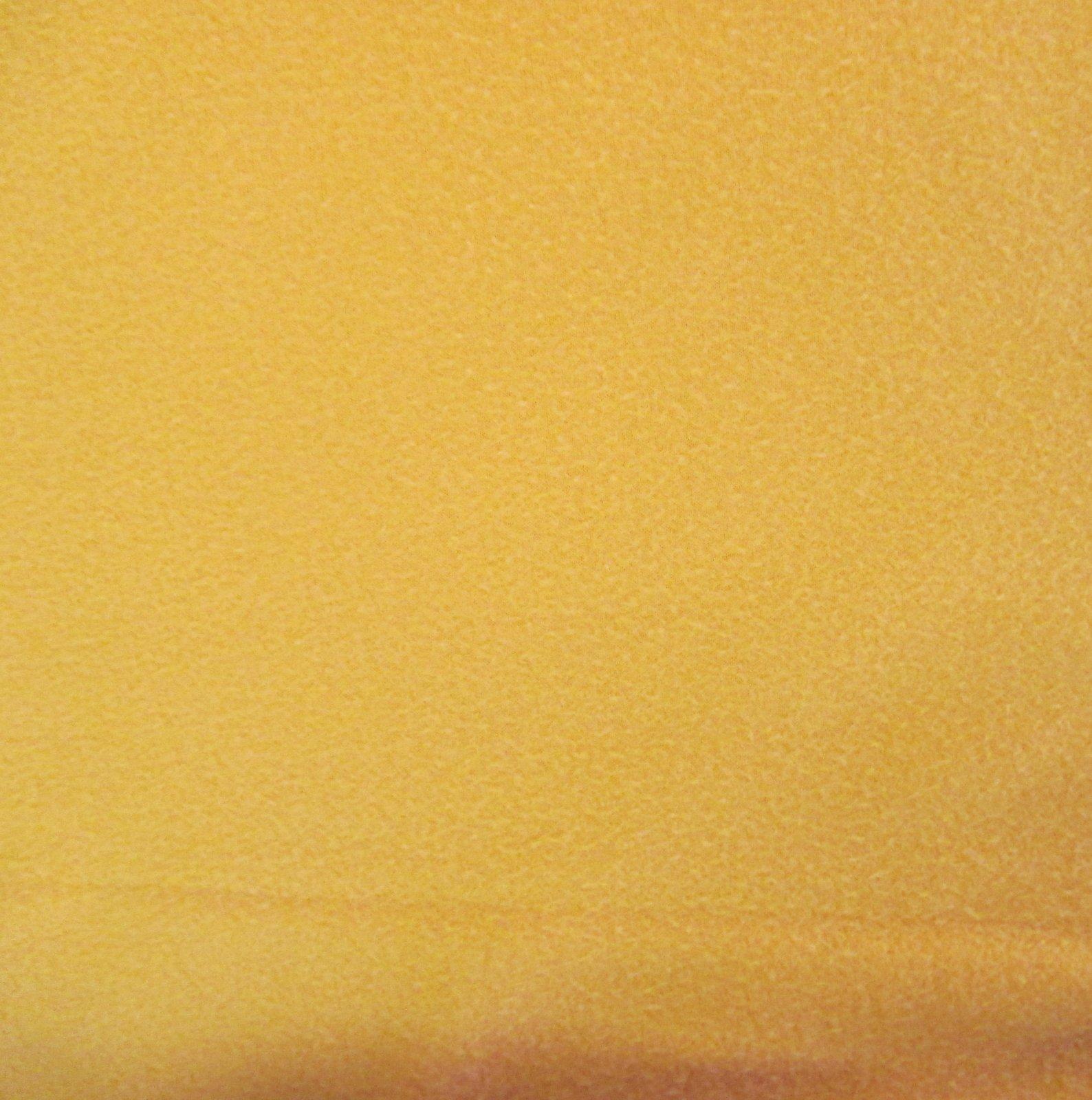 Solid Orange Fleece