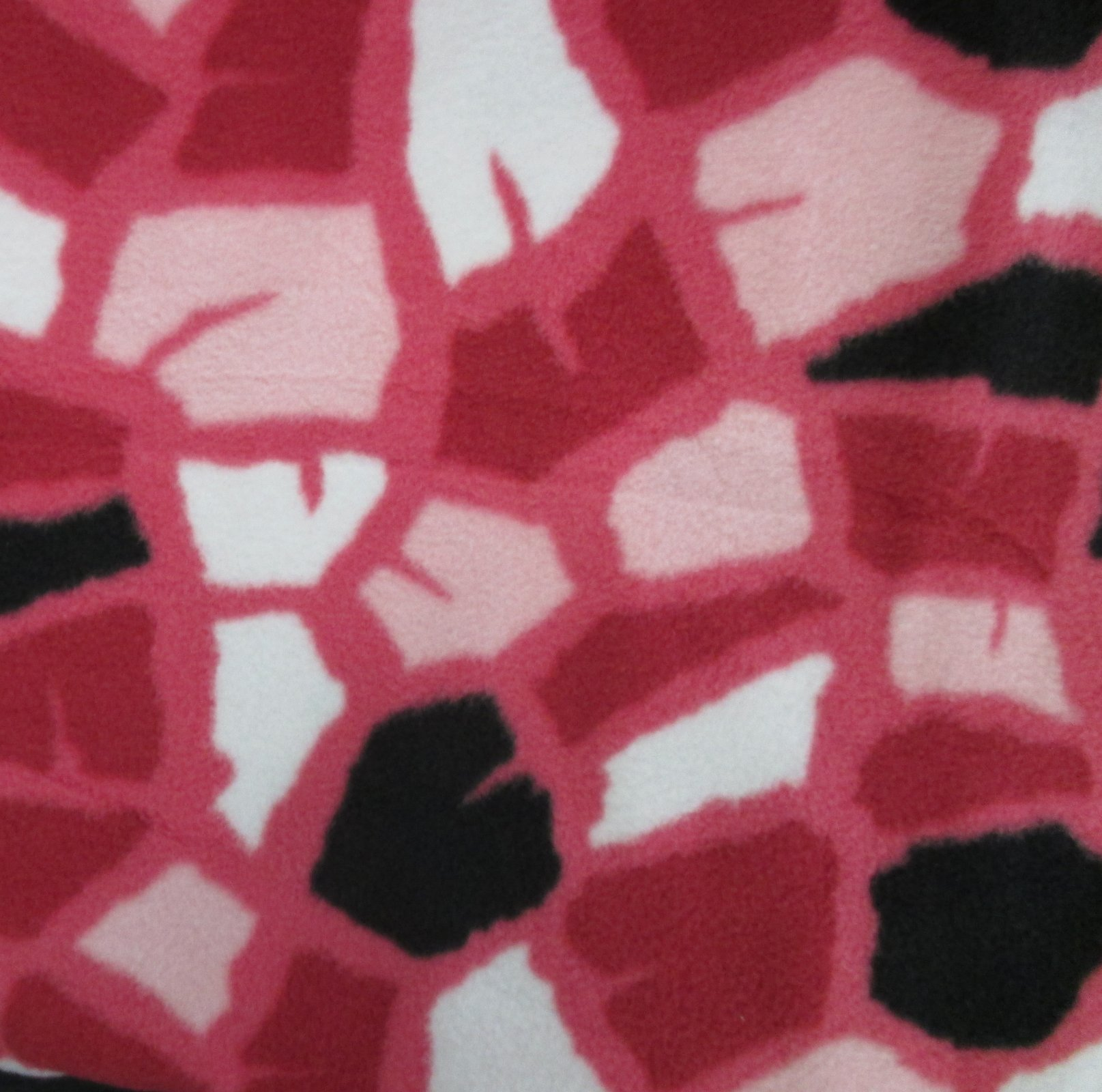 Pink Animal Print Fleece