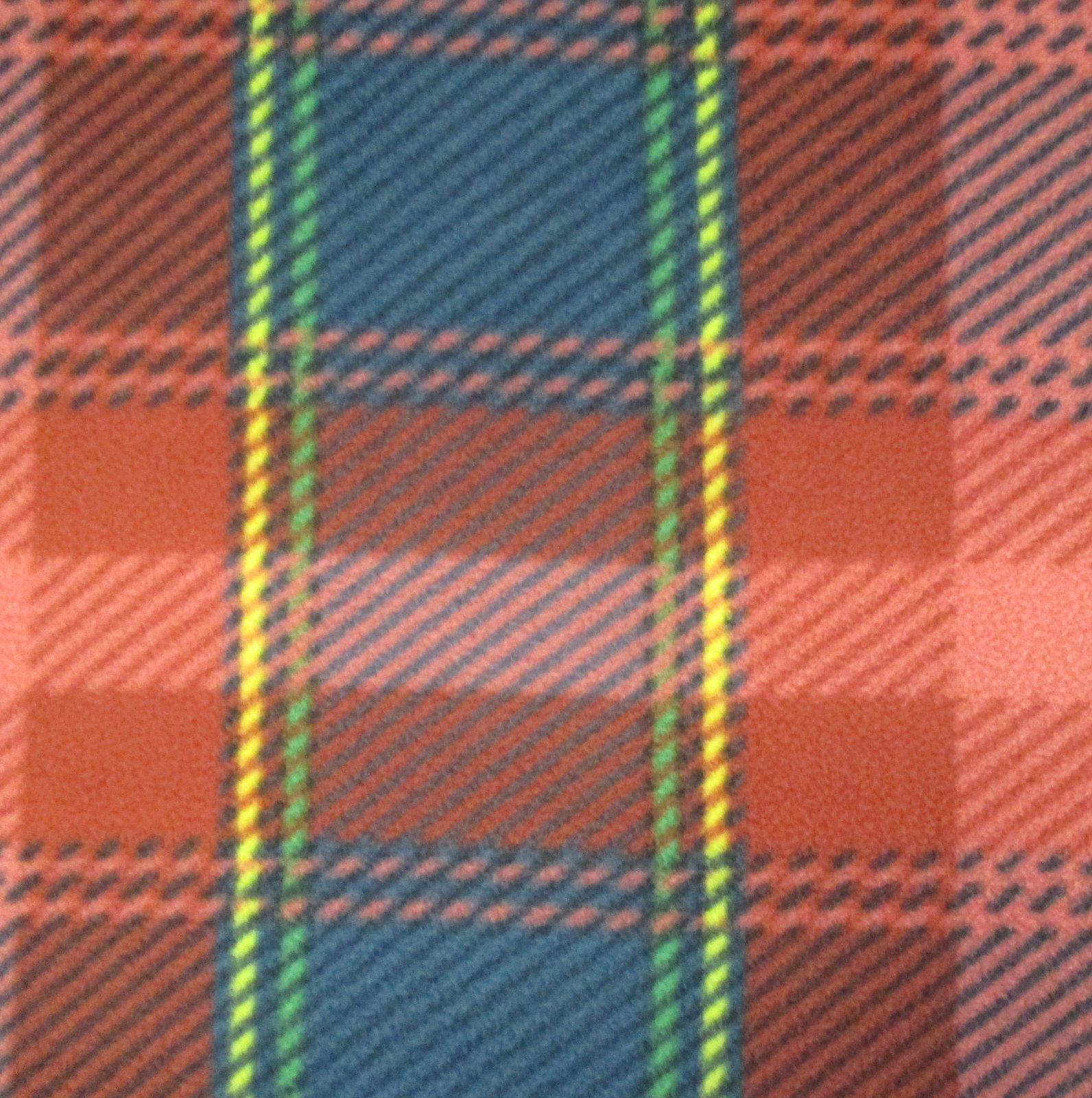 Plaid Fleece