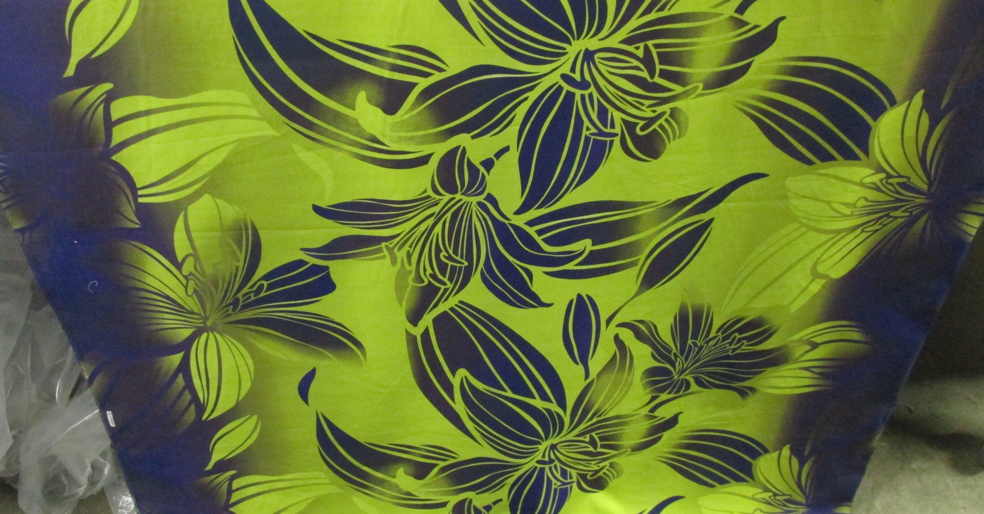 Floral Gradient - Gold/Plum