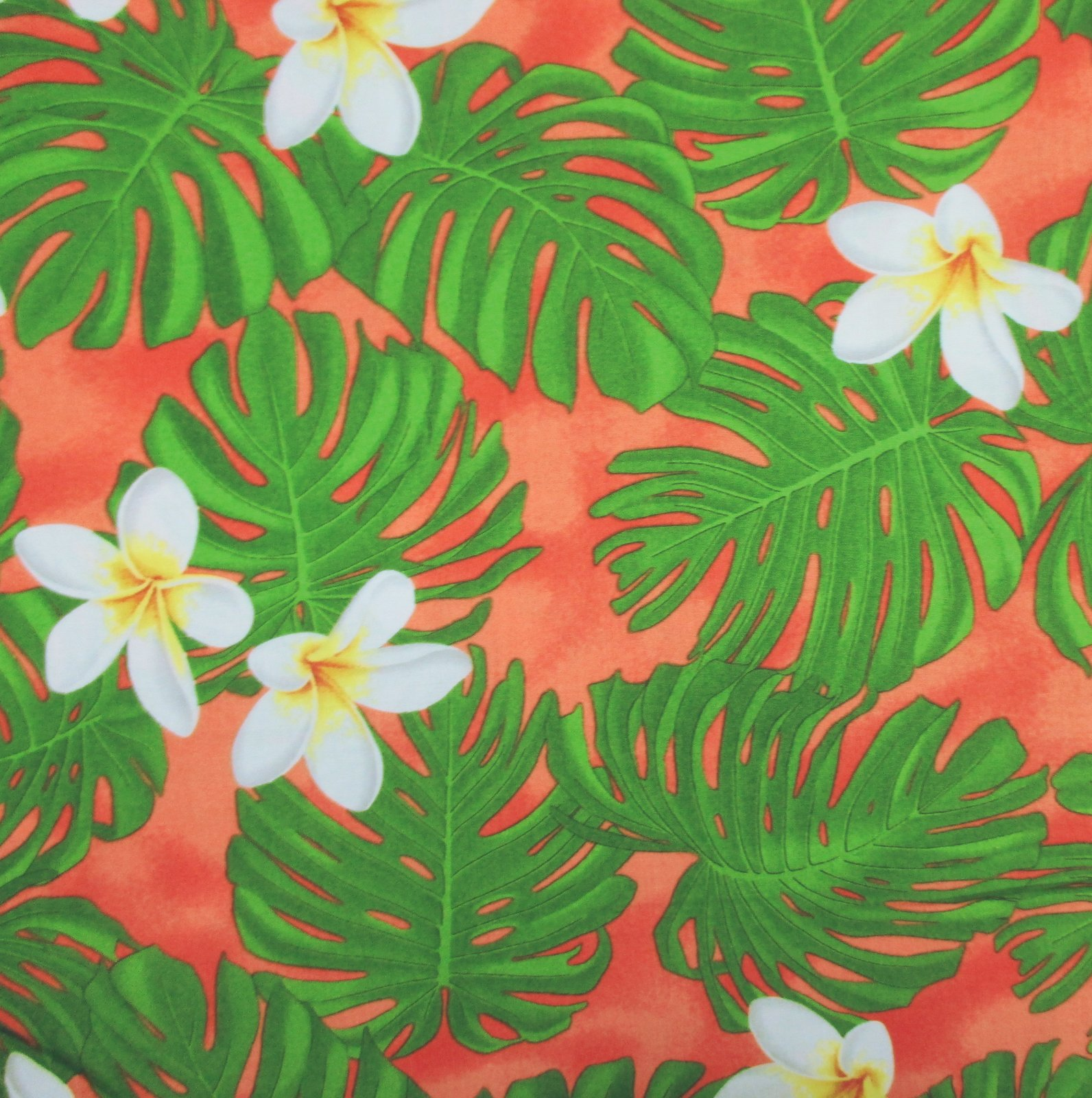 Quilting Treasures - Tropical Breeze (Coral Red)