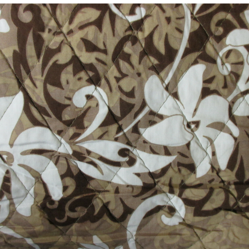 Tiare and Hawaiian Quilt Blocks - Brown
