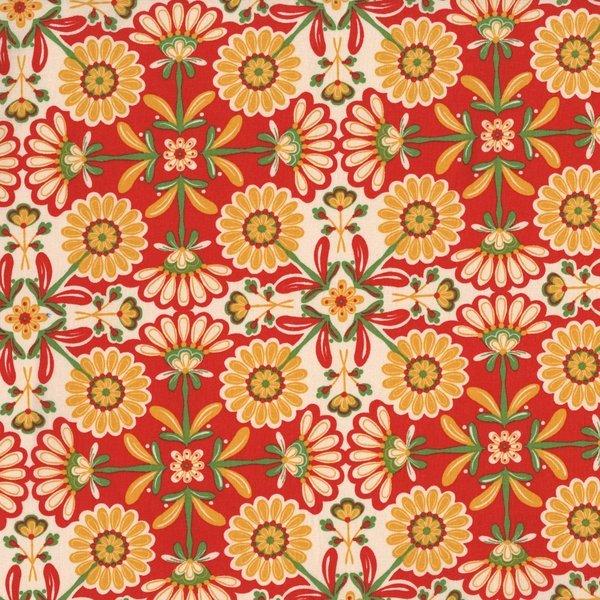 The Sultan's Garden - Flower Blocks - Gold