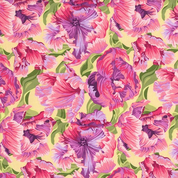 The Sultan's Garden - Large Flowers - Pink