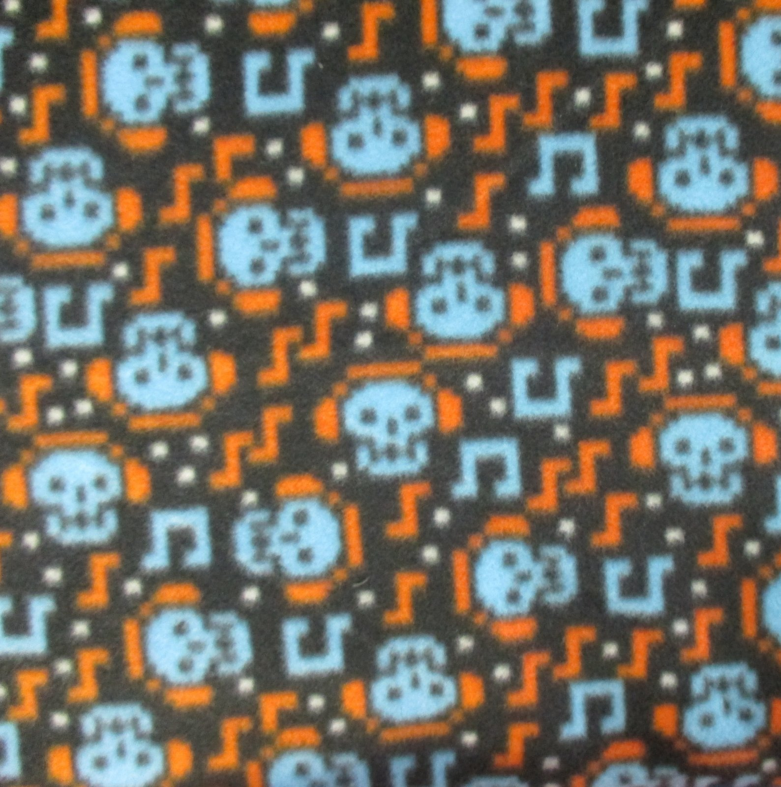 Musical Skulls Fleece