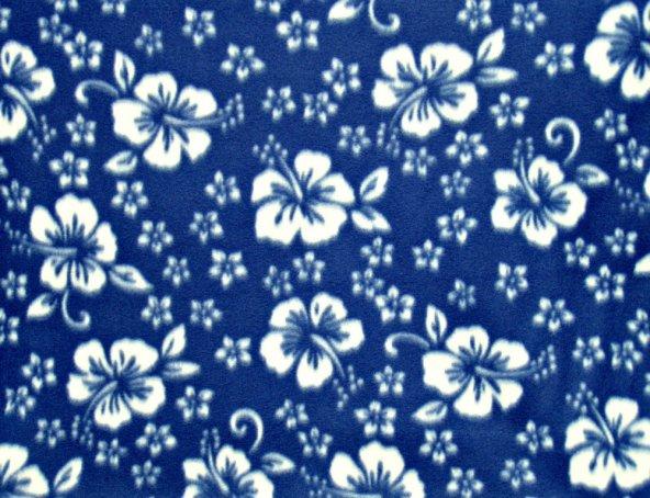 Classic Hibiscus - Dark Blue