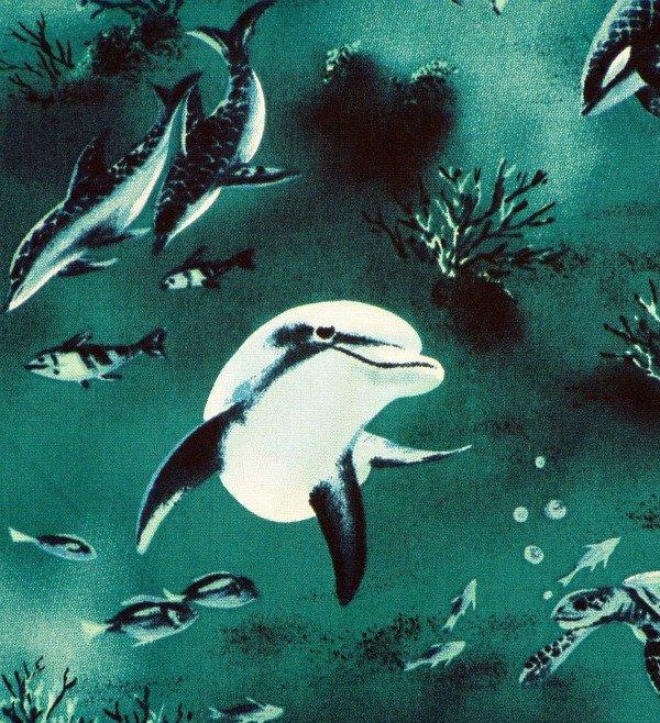 Ocean full of Life - Teal