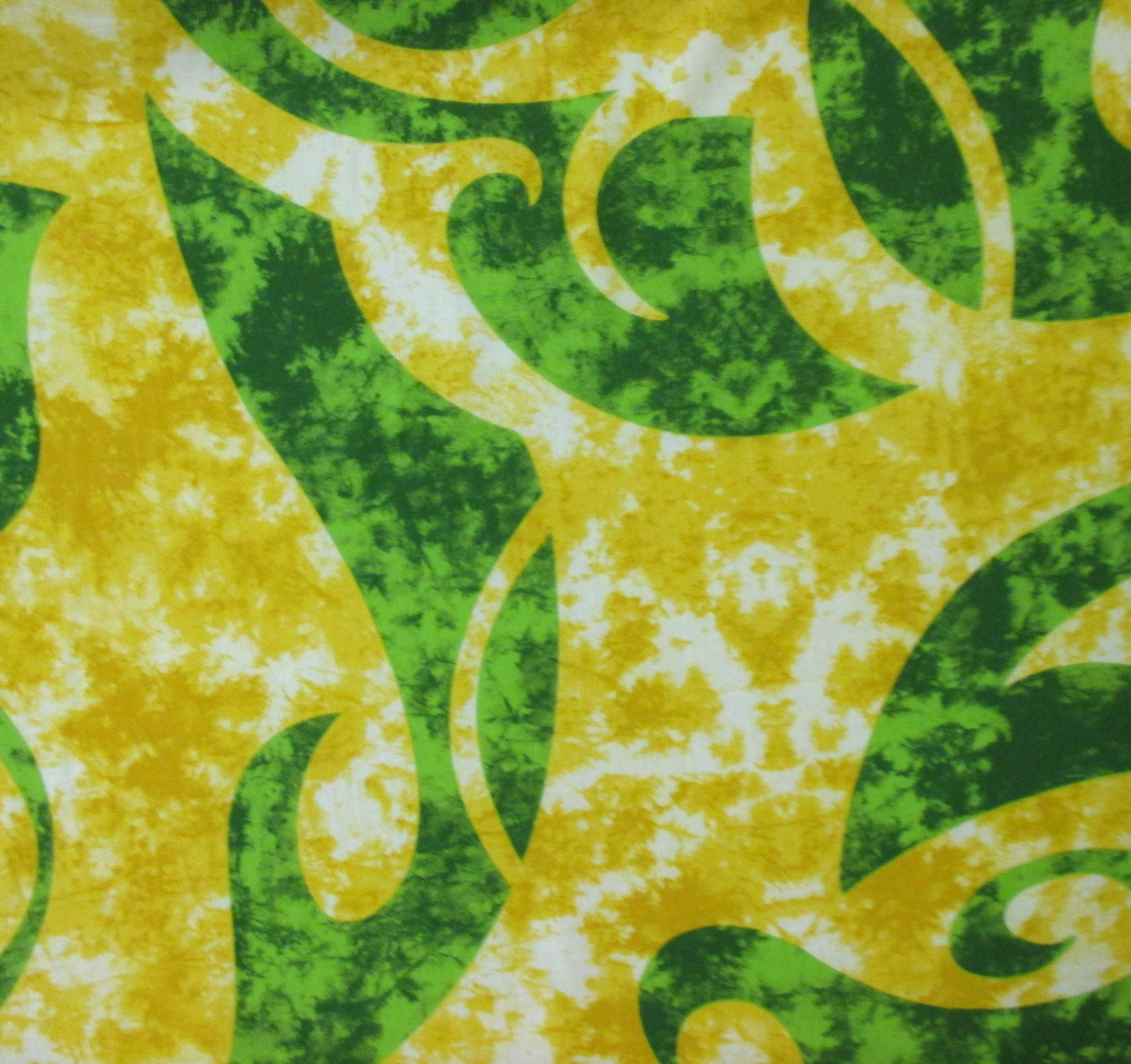 Tribal Print - Yellow/Green