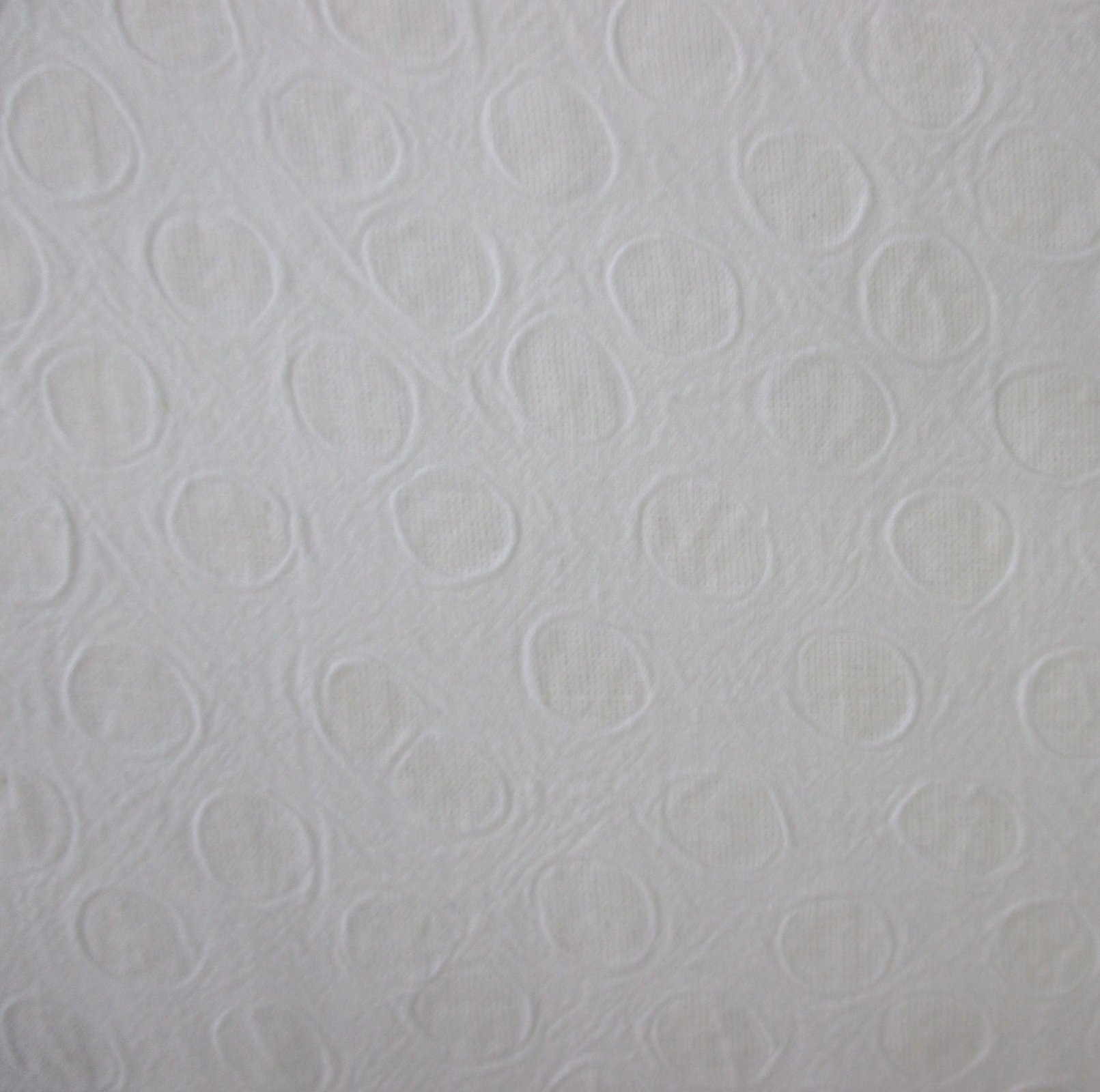 Embossed Cotton - White