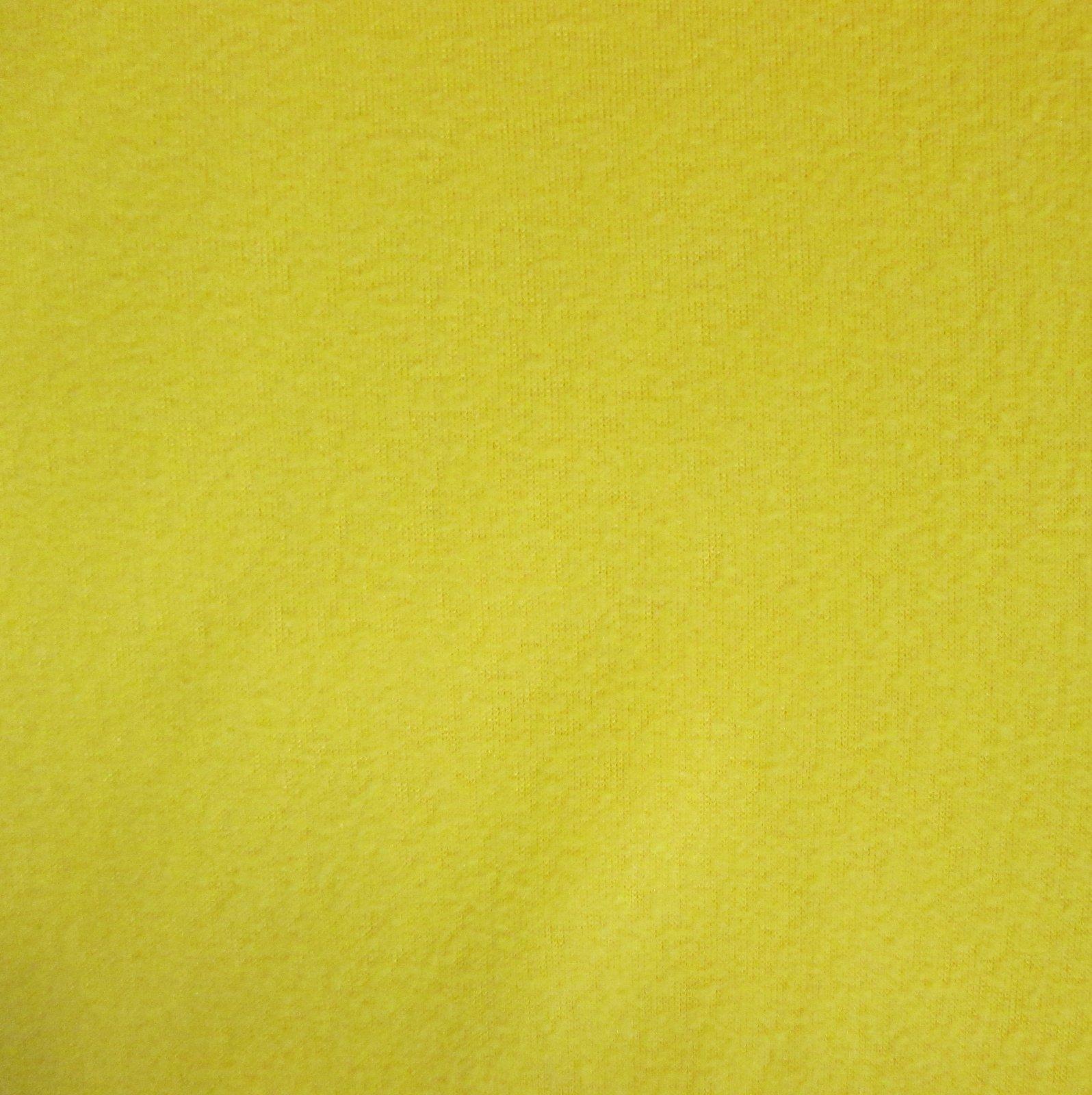 Solid Yellow Fleece