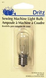 Dritz Screw in Sewing Machine Light Bulb