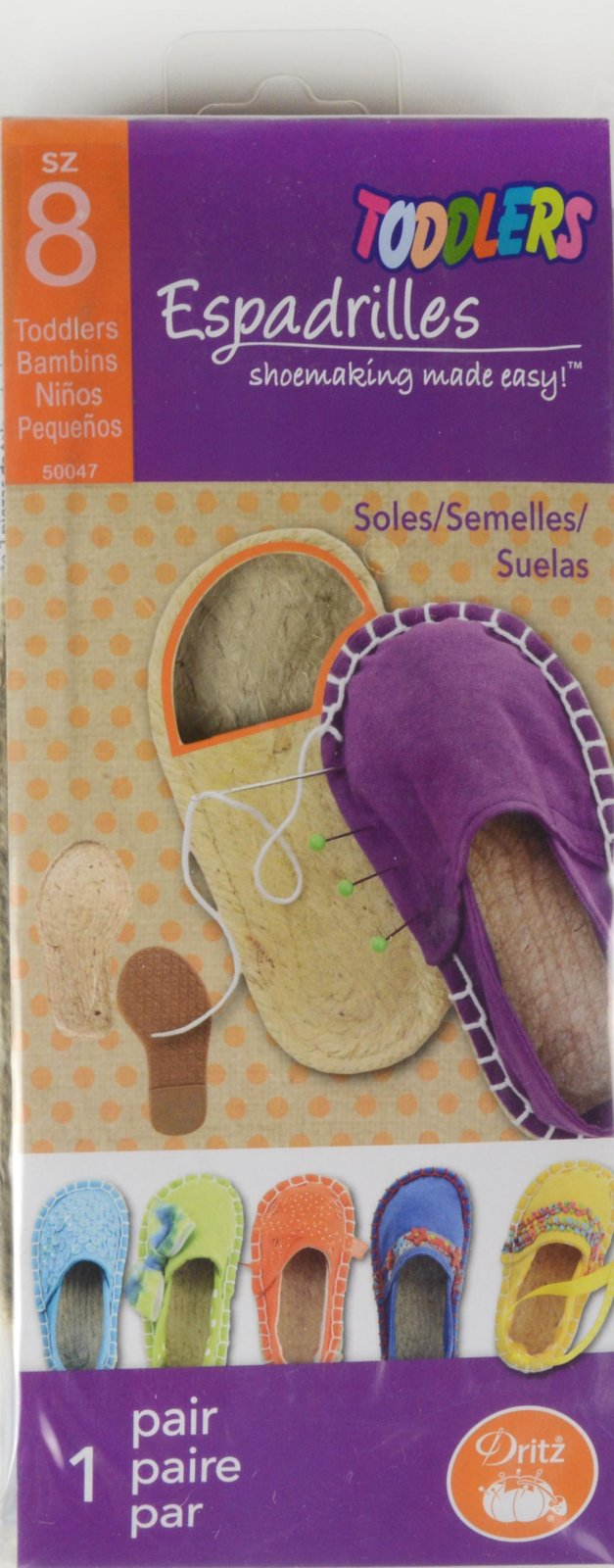 Espadrilles Shoemaking Toddlers Size 8
