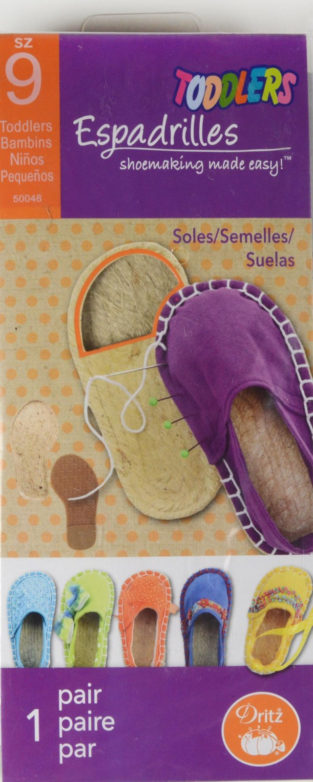 Espadrilles Shoemaking Toddlers Size 9