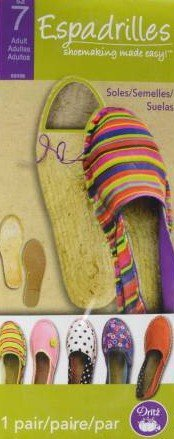Espadrilles Shoemaking Adult Size 7
