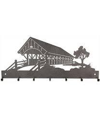 Classic Motifs Hanger 22 - Covered Bridge (Copper)