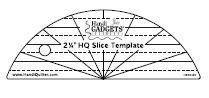 HQ 2 1/4  Slice ruler