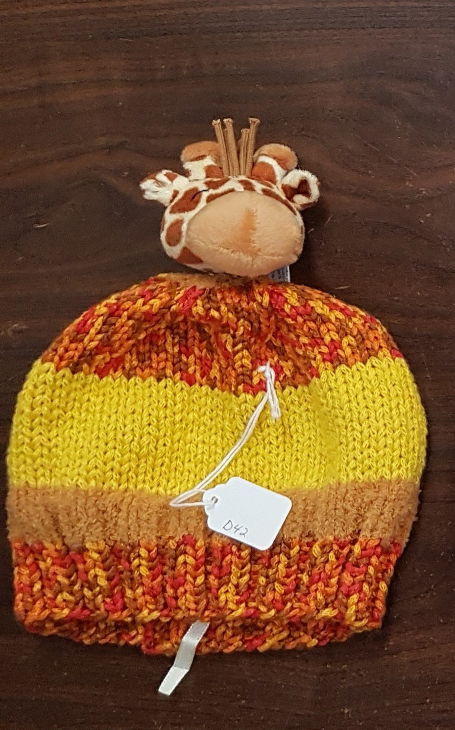 D dot delights Giraffe Hat