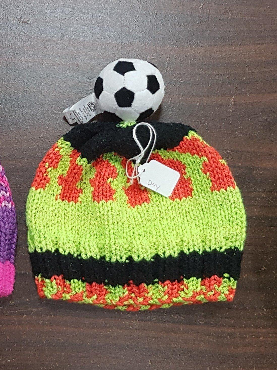 D dot delights Soccer Ball Hat