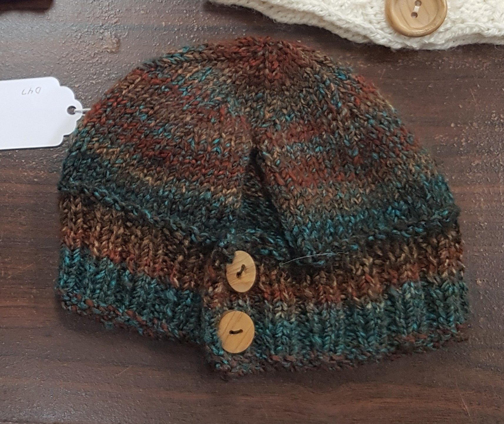 D dot delights Ponytail Hat