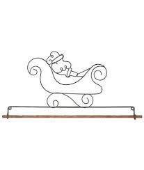 Classic Motifs Hanger 22 - Santa's Sled