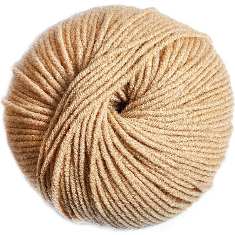Woolly Natural Knitting - Tan 110