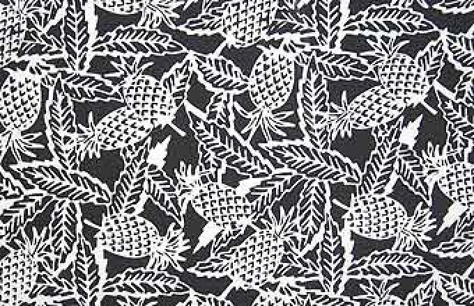 Batik Print - Pineapples