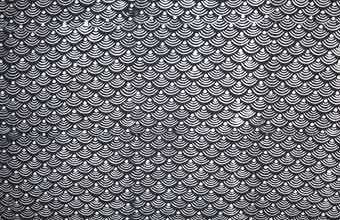 Batik Print - Scallop Design