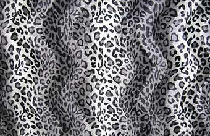 Faux Fur - Snow Leopard