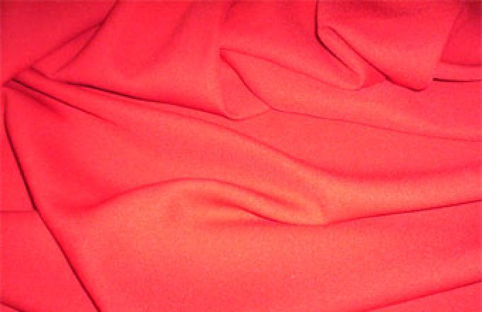 Symphony Crepe Tiara - Capri Red