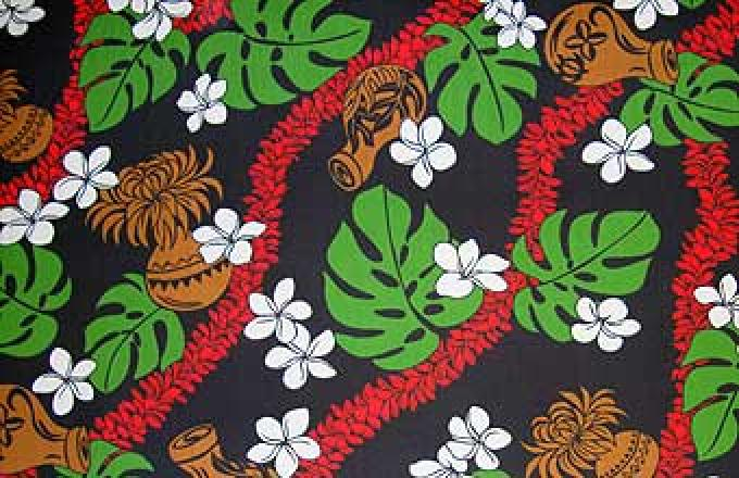 Lei & Hula Implements - Black