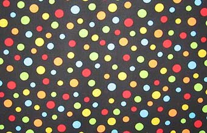 Crazy for Dots - Black