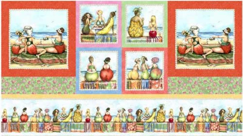 Fruit Ladies - Panel