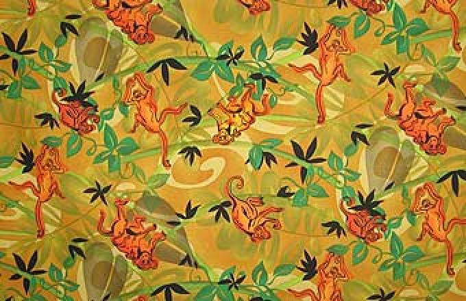 Safari Sunset Jungle Print