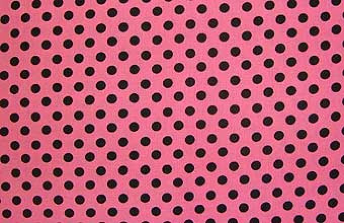 Crazy for Dots - Hot Pink & Black