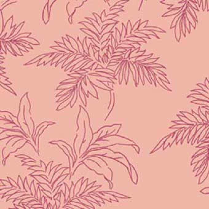 Bali Breeze Foliage - Pink