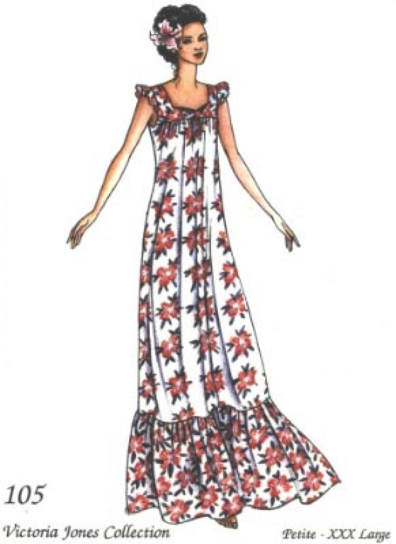 Sleeveless Muu Muu Dress Pattern