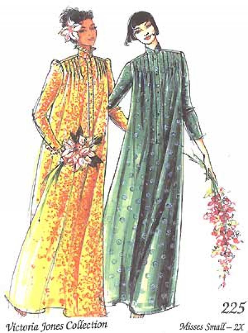 High Neck Muu Muu Dress Pattern