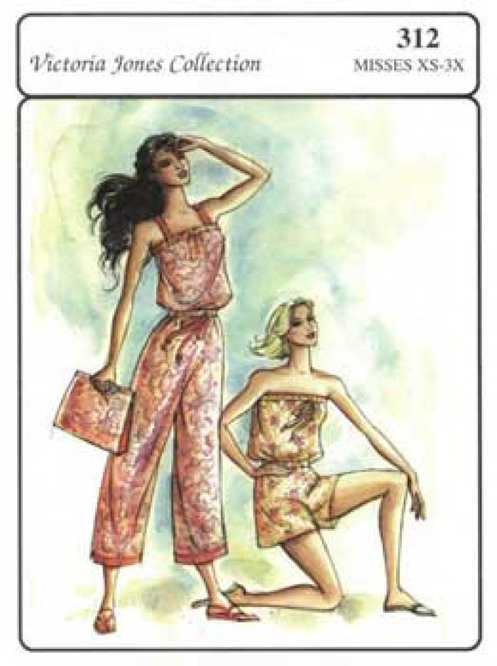 Sunsuit Short or Capri Pattern