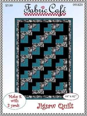 Fabric Cafe - Jigsaw Quilt