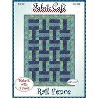 Fabric Cafe - Rail Fence