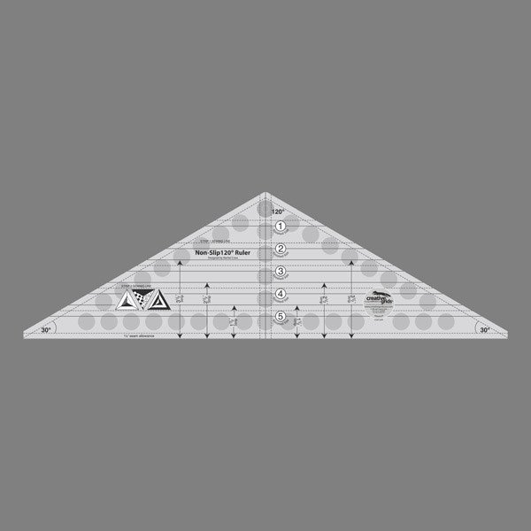 Creative Grids 120 Degree Triangle Ruler