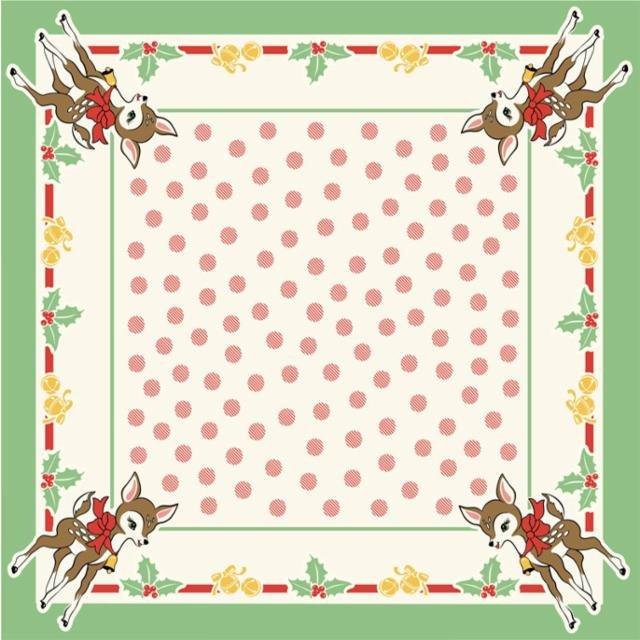 Urban Chiks - Deer Christmas Tablecloth